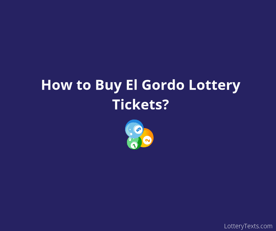 El Gordo Lottery Tickets_