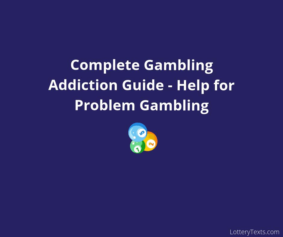 Gambling Addiction Guide